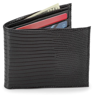 The Lizard Hide Wallet.