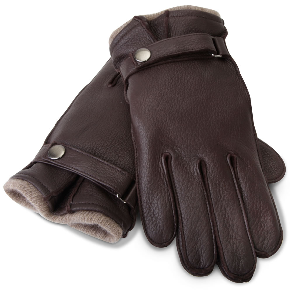 The Gentleman's Cashmere Lined Deerskin Gloves 1