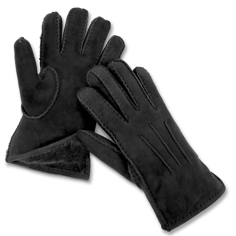 The Genuine Handsewn Shearling Gloves 2