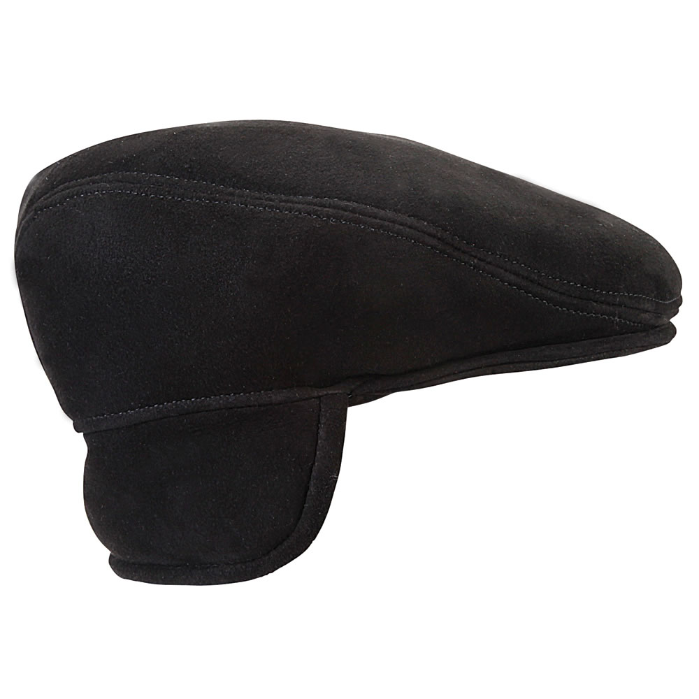 The Genuine Englishmen's Shearling Lined Ivy Cap 2