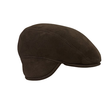 The Genuine Englishmen's Shearling Lined Ivy Cap.
