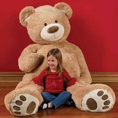 The 6 Foot Teddy Bear.