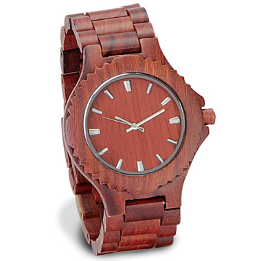 The Gentleman's Sandalwood Watch.