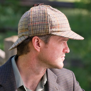 The Deerstalker Irish Tweed Hat.