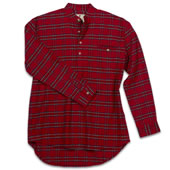 The Genuine Irish Flannel Grandfather Shirt.