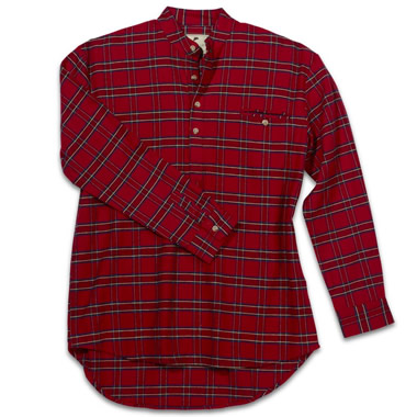 The Genuine Irish Flannel Shirt.