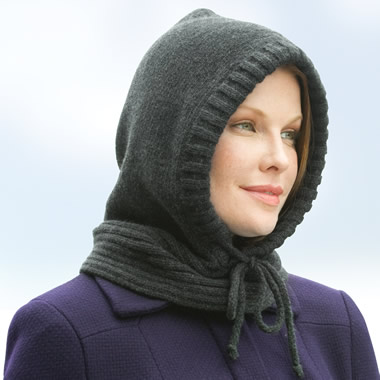 The Lady's Hooded Neckwarmer.