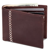 The Baseball Glove Leather Wallet.