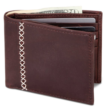 The Baseball Glove Leather Wallet