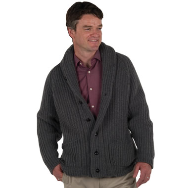 The Scottish Cashmere Cardigan.