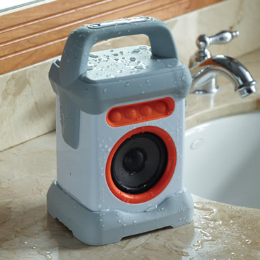 The Water Resistant Wireless Speaker.
