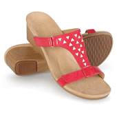 The Lady's Plantar Fasciitis Dress Wedge Sandals.