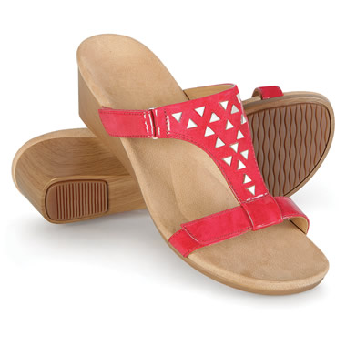 The Lady's Plantar Fasciitis Dress Wedge Sandals