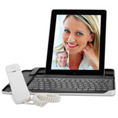 The iPad Internet Chat Handset.