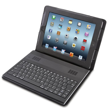 The iPad Keyboard Speaker Case