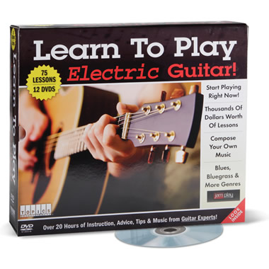 The Learn To Play Electric Guitar DVDs.
