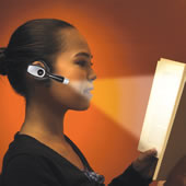 The Over the Ear Book Light.