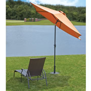 The Lightweight Fin Staked Umbrella Stand.
