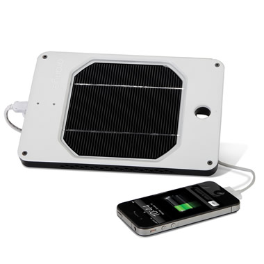 The Rapid Solar iPhone Charger.