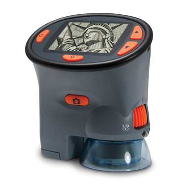 The Portable Video Microscope.