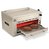 The 1,400� F Searing Grill.