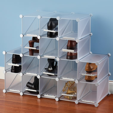 The Configurable Cubic Shoe Rack