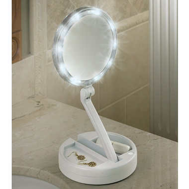 The Brighter Foldaway Vanity Mirror.