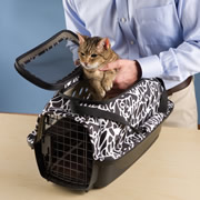 The Easy Load Pet Carrier.