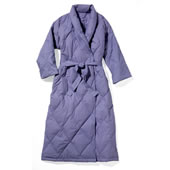 The Quilted Down Robe.