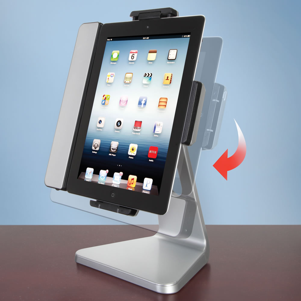 The Rotating iPad Speaker Dock2