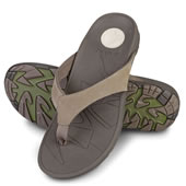 The Gentlemen's Plantar Fasciitis Sport Flip Flops.