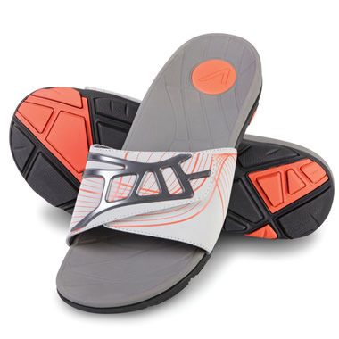 The Gentlemen's Plantar Fasciitis Sport Slides.