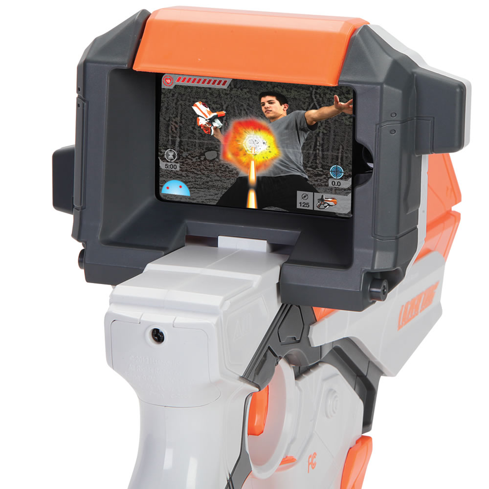 The Augmented Reality iPhone Laser Blaster 2