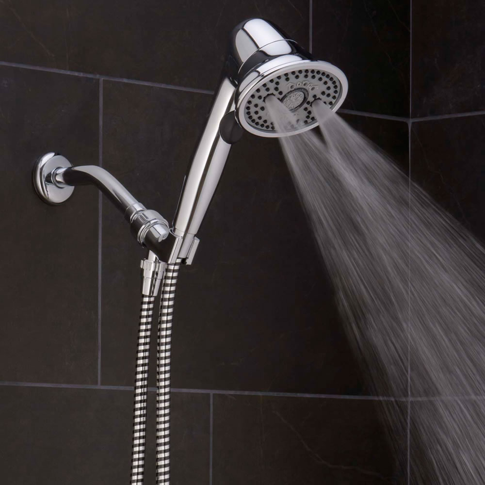 The Pressure Boosting And Clog Preventing Handheld Showerhead 2