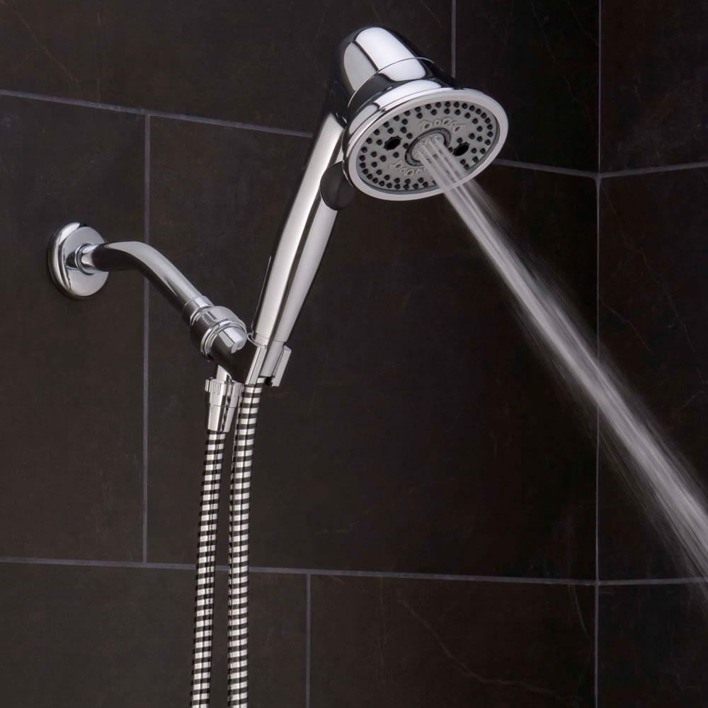 The Pressure Boosting And Clog Preventing Handheld Showerhead3