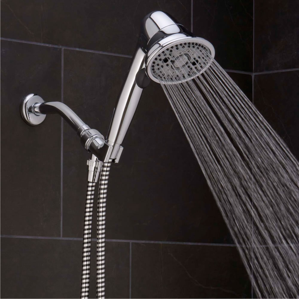 The Pressure Boosting And Clog Preventing Handheld Showerhead 1