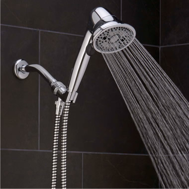 The Pressure Boosting And Clog Preventing Handheld Showerhead
