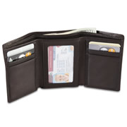 Argentinian Leather Trifold Wallet.