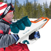 The 50 Foot Snowball Launcher.