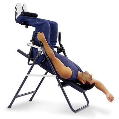 The Stress Minimizing Inversion Chair.