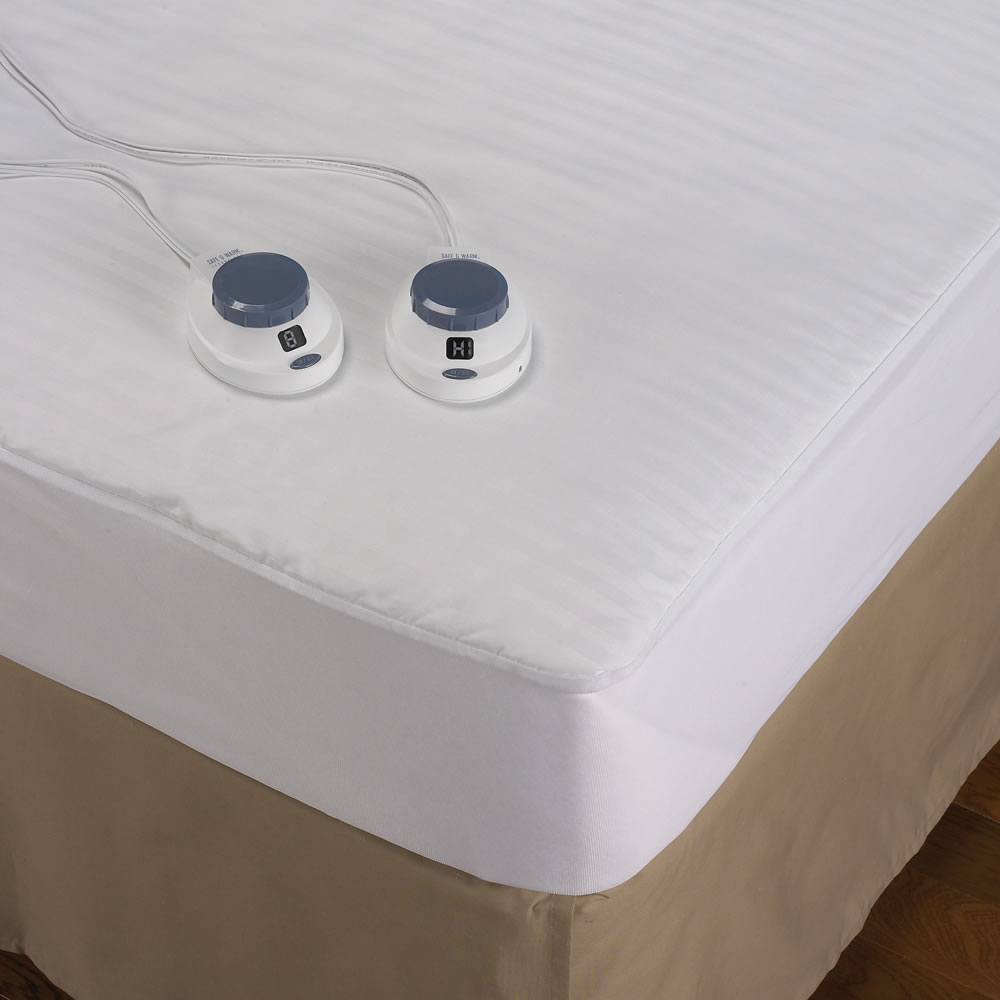 The Best Heated Mattress Pad Hammacher Schlemmer