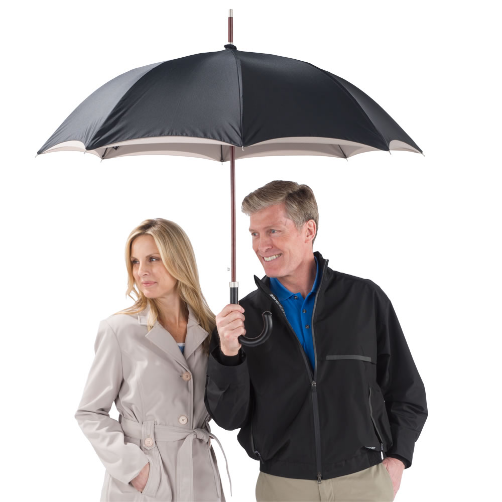 The Gentleman's Double Canopy Umbrella 3