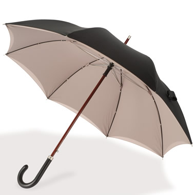 The Gentleman's Double Canopy Umbrella.