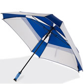 "The 62"" Square Canopy Golf Umbrella."