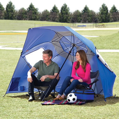 The Instant 8' Diameter Shelter.