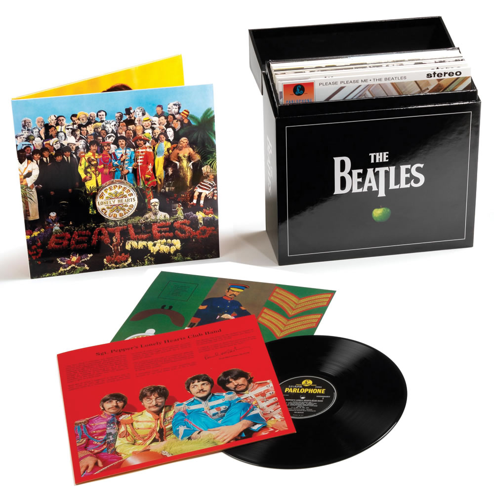 The Beatles' Vinyl Studio Albums 1