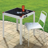 The Device Charging Patio Table.