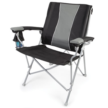 The Lumbar Supporting Portable Chair.