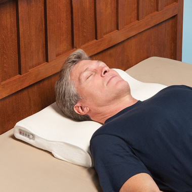 The Snore Activated Nudging Pillow.