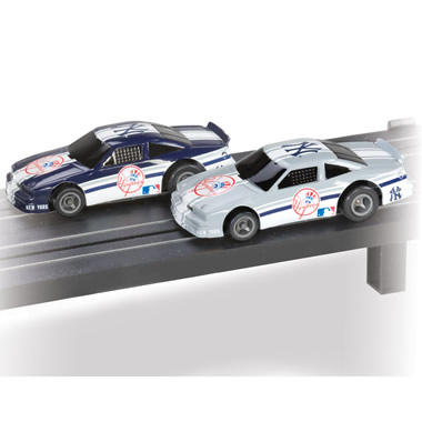 The New York Yankees Slot Car Raceway